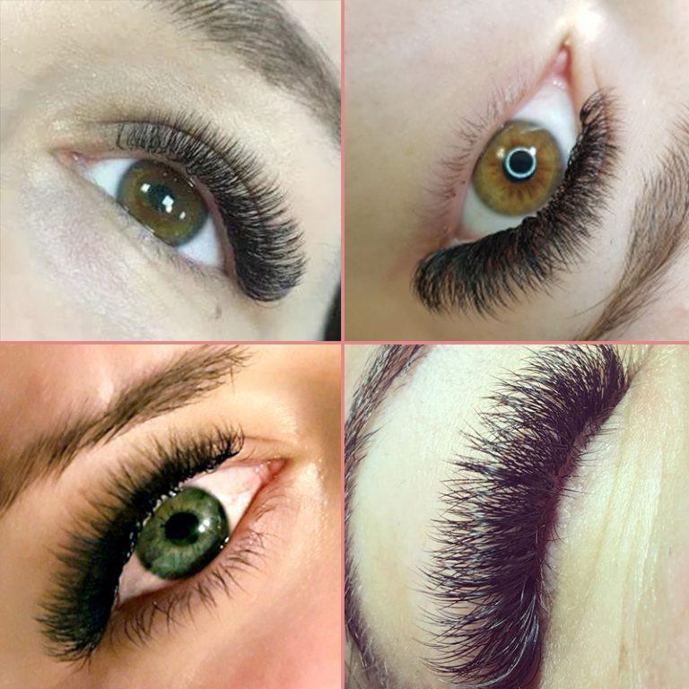 Genielash All Size 1pc individual mink eyelashes russian ...