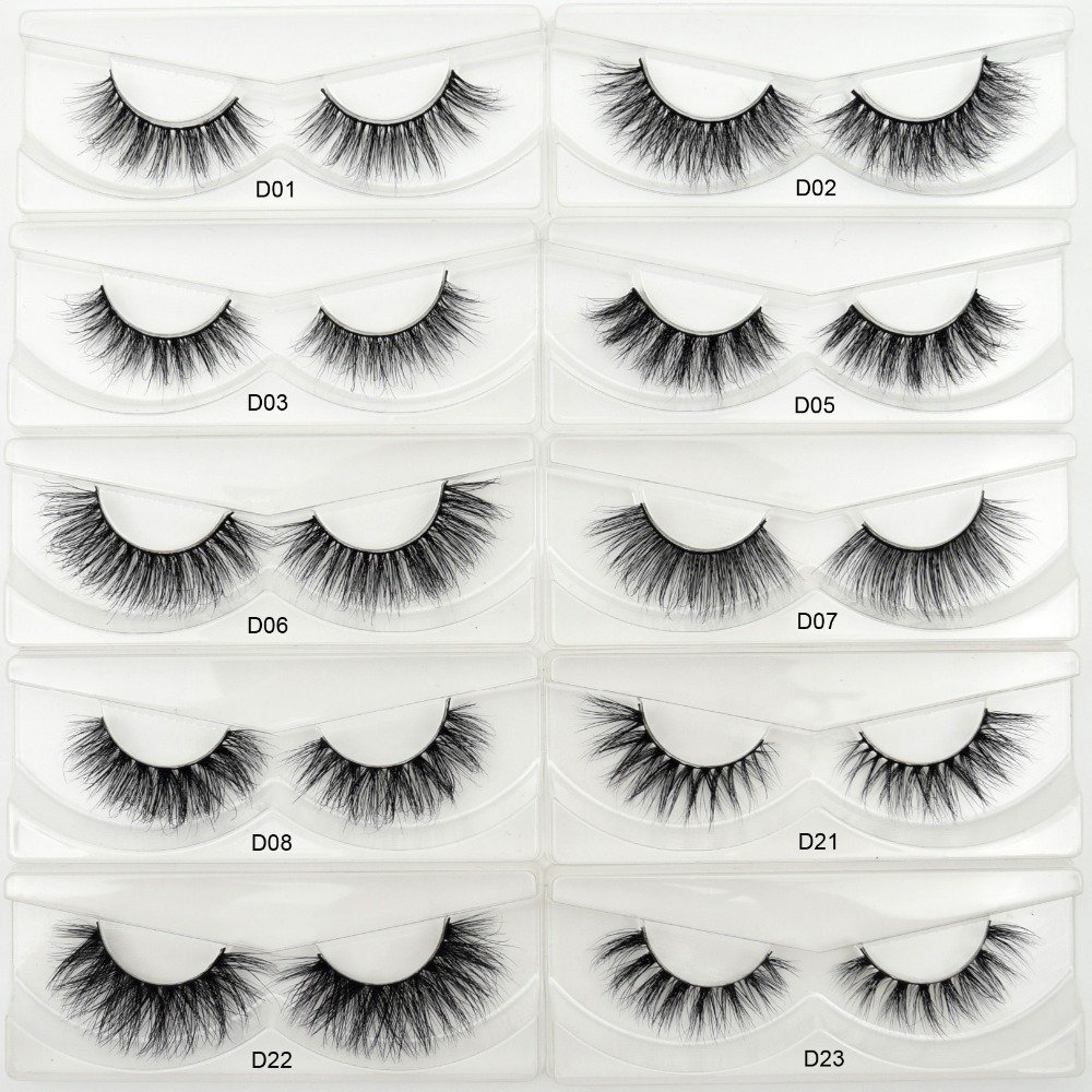 65e665d9260 Visofree Eyelashes 3D Mink Eyelashes Crossing Mink Lashes Hand Made Full  Strip Eye Lashes 34 Styles New Package cilios naturais