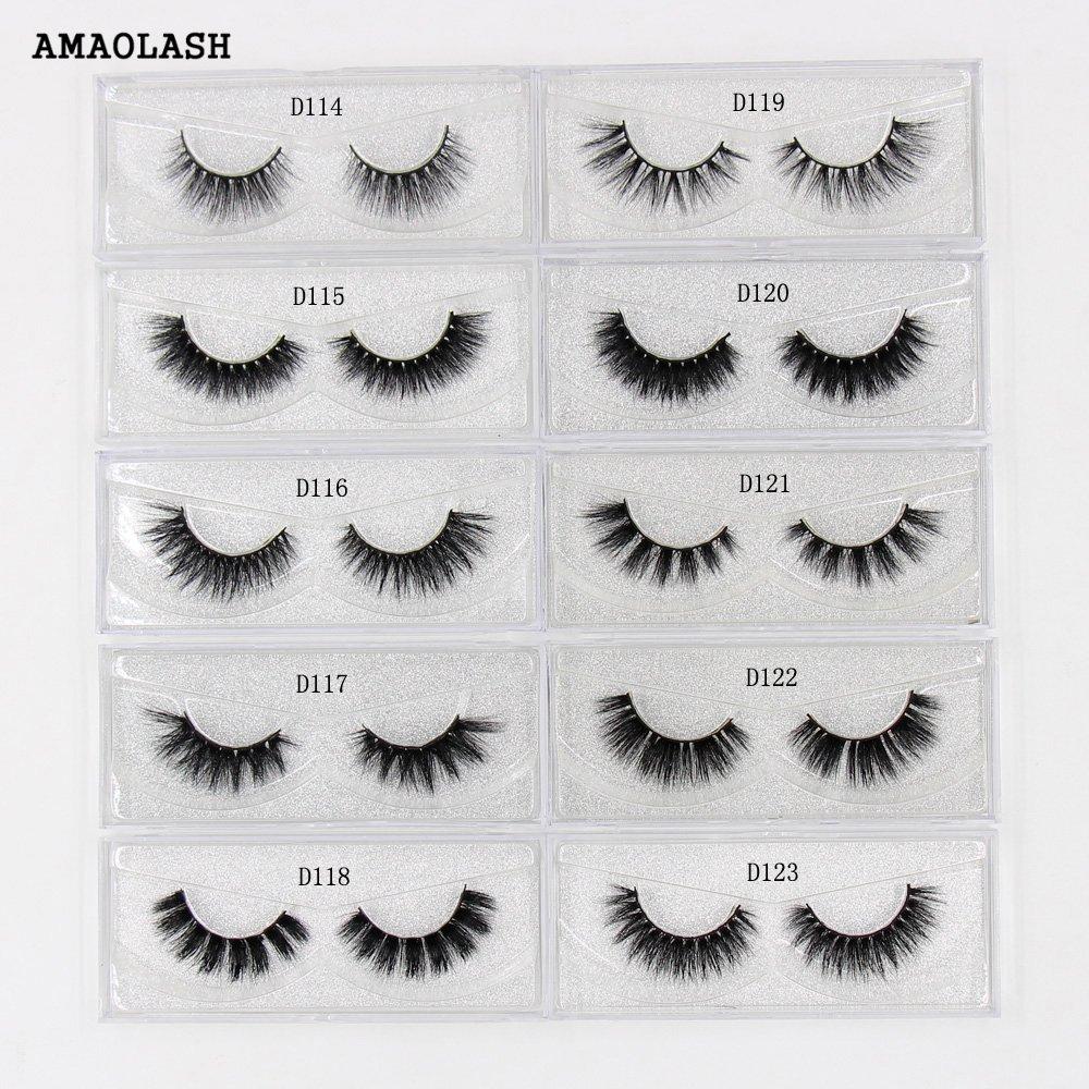 d8ad1c8cac1 AMAOLASH Lashes 3D Mink Eyelashes Volume Lashes Cruelty Free False  Eyelashes Ultra-long Lightweight Fluffy Naturally Fuller Lash