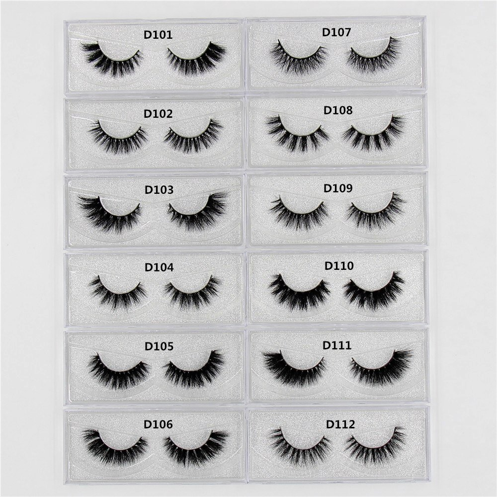 b752b98d23e 1 pairs cruelty free natural false eyelashes fake lashes long makeup 3D  mink lashes extension eyelash mink eyelashes for beauty