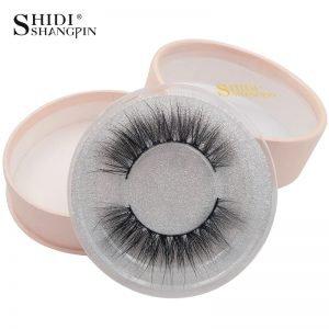 475ae532b79 SHIDISHANGPIN 1 Pair mink eyelashes natural long 3d mink lashes hand made  false eyelashes 1 box 3d lashes eyelash extension #7