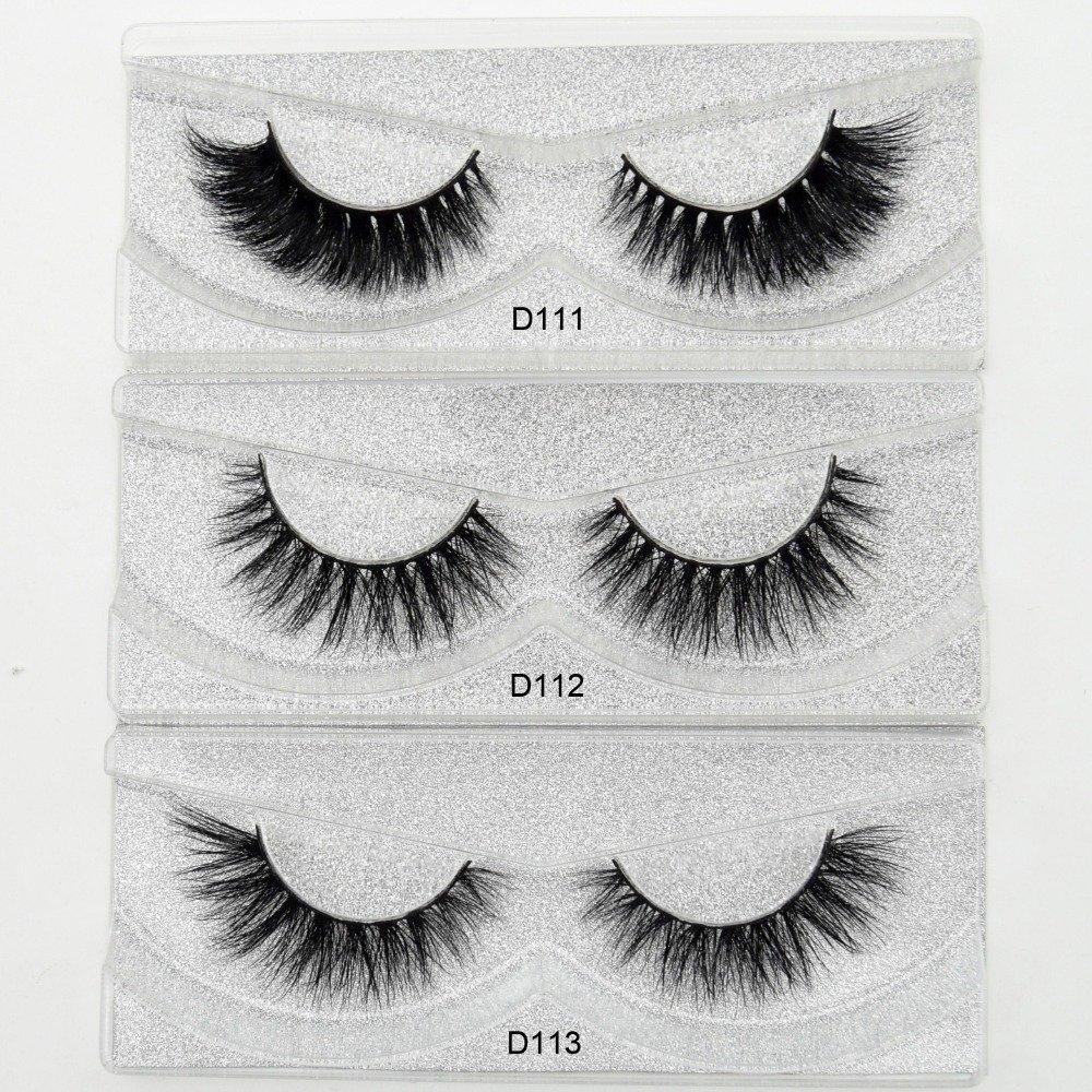 434a17eacaf Visofree Mink Eyelashes 3D Mink Lashes Thick HandMade Full Strip Lashes  Cruelty Free Korean Mink Lashes 27 Style False Eyelashes